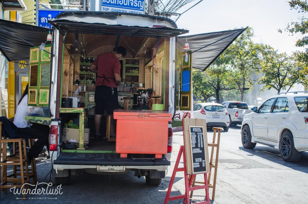 chiang mai coffee truck
