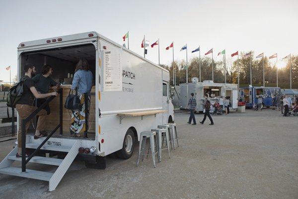 dispatch coffee truck