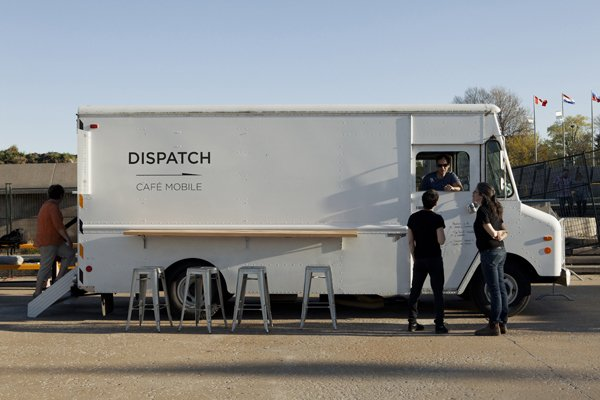 dispatch coffee truck