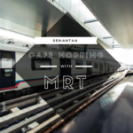 Semantan MRT Cafe hopping