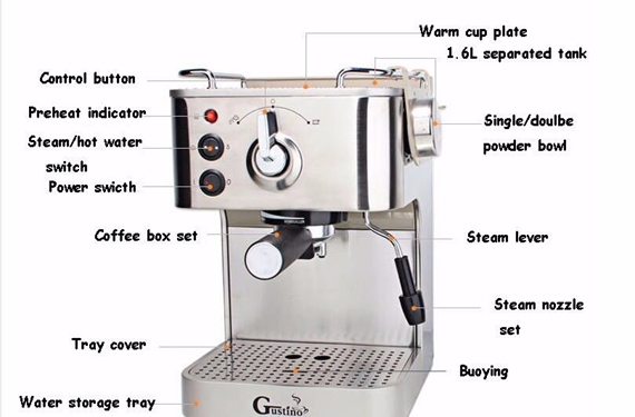 Getting to Know your 19 Bar Espresso Machine